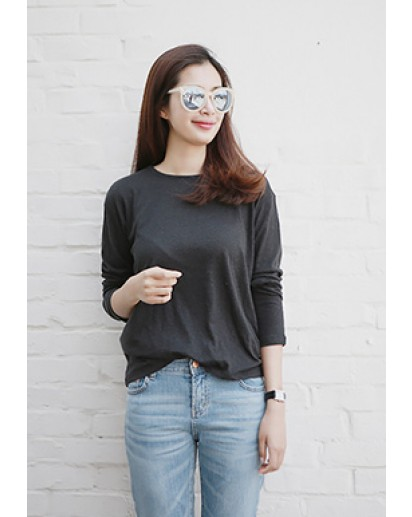 Linen Long-sleeved Tee