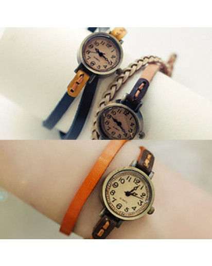 Vintage double strap watch