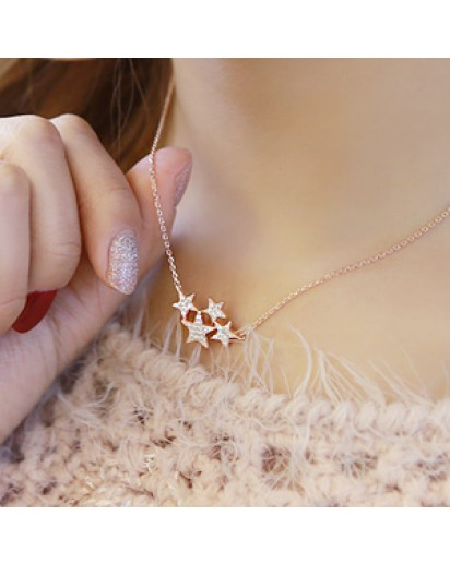 *92.5% Silver* Shining star necklace