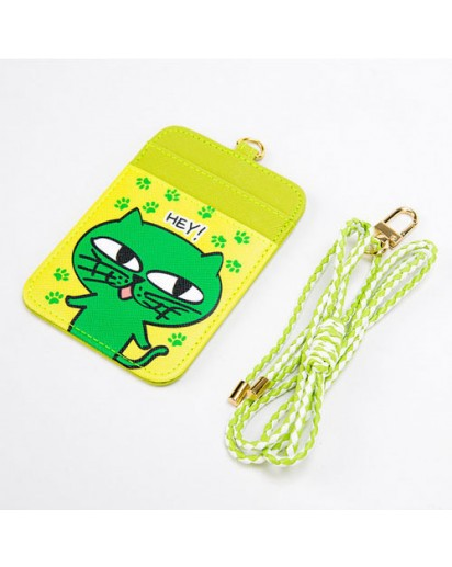 [2PM] OKCAT CARD HOLDER - OK TAC YUN CAT CHARACTER [Official MD Goods]