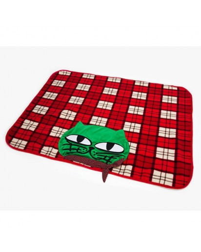[2PM] OKCAT BLANKET- OK TAC YUN CAT CHARACTER [Official MD Goods]