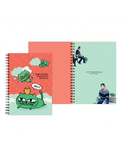[2PM] OKCAT SPRING NOTE - OK TAC YUN CAT CHARACTER [Official MD Goods]