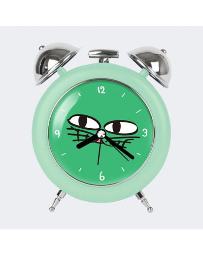 OKCAT TABLE CLOCK