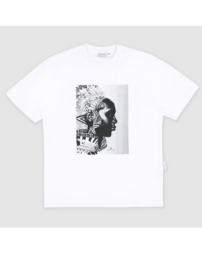 [thepartment] CHIEF 5 CUT T-SHIRTS WHITE