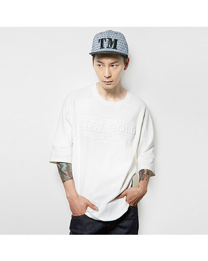 [thepartment] Three Quater Length Sleeve T-shirt -6th Reorder (in stock)