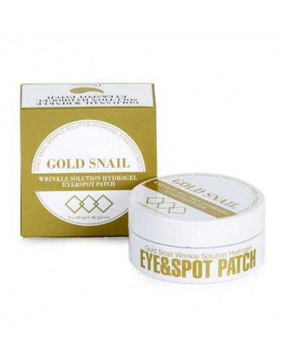 [Esthetic House] GOLD SNAIL WRINKLE SOLUTION HYDROGEL EYE & SPOT PATCH