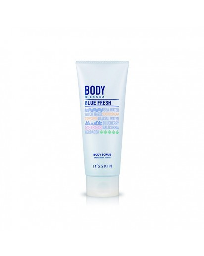 [I's skin] Body Blossom Blue Fresh Body Scrub