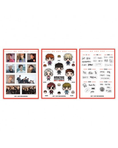 GOT7 - Sticker set (GOT7 2ND FAN MEETING GOODS)