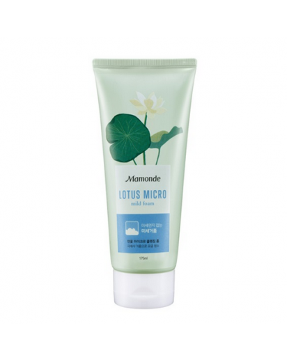 Lotus Micro Cleansing Foam [Mamonde]