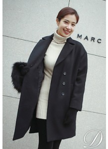Double-breated Classic Overcoat