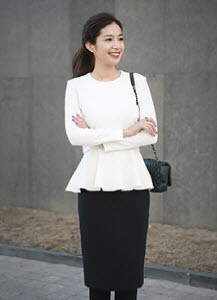 Chic Flared Blouse