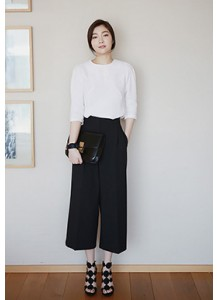 Wide Capri Pants