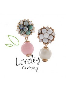 Lorelei earrings [post backs/clips]