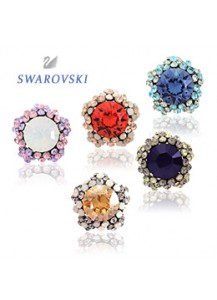 [Swarovski] More than earrings [post backs/clips]
