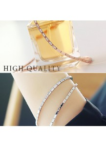 [High quality] LUX square chain bracelet