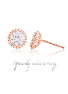 *92.5% Silver POST* Specialty cubic earrings