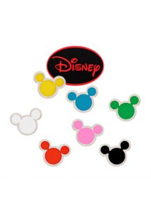 [Authentic Disney]*92.5% Silver POST* Mini Color Mickey earrings