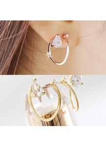 *92.5% Silver POST* Gyre earrings