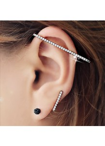 Twin stick earcuff