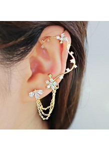 *92.5% Silver POST* Dynasty earcuff