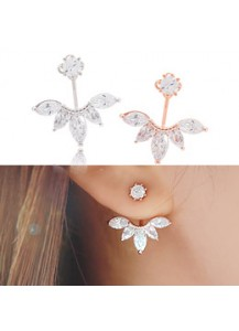 *92.5% Silver POST* Fairy flower earrings
