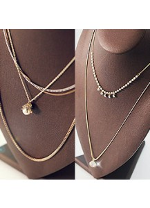 Philosophy long necklace
