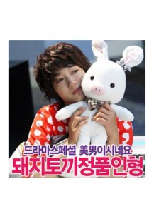[You Are So Beautiful] Pig Rabbit Doll - Big (55cm)