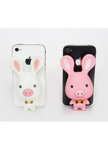 [You Are So Beautiful] Pig Rabbit Mobile Phone Holder