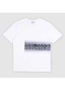 [thepartment] GINGHAM CHECK T-SHIRTS WHITE