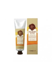 Vita Berry Whitening Hand Lotion (SPF20/PA++)  [The Face Shop]
