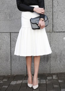 Jane Pleated Skirt