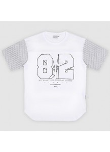 [thepartment] 82 LINE T-SHIRTS WHITE