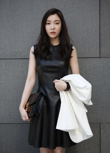French Leather Dress