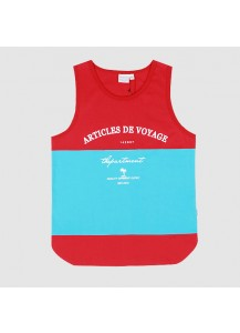 [thepartment] ARTICLES SLEEVELESS RED