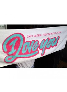 [2NE1] NEW EVOLUTION Towel