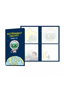 [2PM] OKCAT POST IT SET - OK TAC YUN CAT CHARACTER [Official MD Goods]