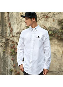 [thepartment] DICE LONG SHIRTS WHITE