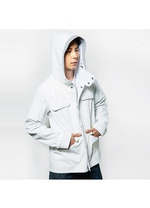 [thepartment] GREEN HILL MOUNTAIN JACKET WHITE