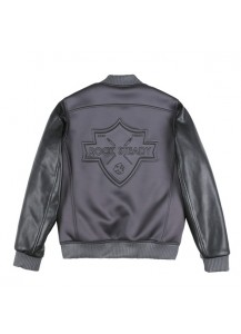 [THEPARTMENT] ROCK STEADY STADIUM JACKET GREY(TM14FJP01GY)