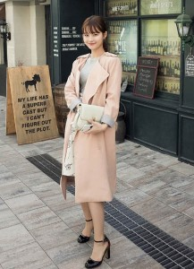 chic double coat