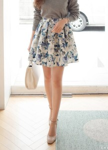 loyal flower skirt