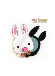 [You Are So Beautiful] Pig Rabbit Mirror