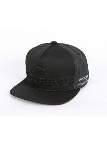 [thepartment] ROCKSTEADY EMBO CAP BLACK
