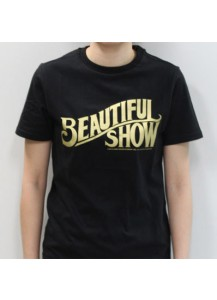 BEAST - Beautiful Show BEAST Official Tour T-shirt (Size:L) [Official MD Goods]