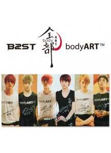 BEAST - Body Art Big Towel [Official MD Goods]