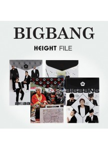 [BIGBANG] HEIGHT FILE (10pcs)