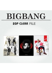 [BIGBANG] 20P CLEAR FILE