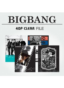 [BIGBANG] 40P CLEAR FILE