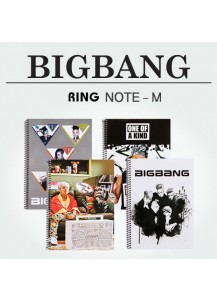 [BIGBANG] RING NOTE - M (5pcs)