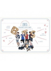 BTS - 2015 Season's Greetings (Desk Calendar+Scheduler+DVD+Poster Calendar+Sticker+New Year's Card)